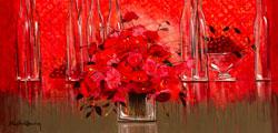 행복을 그리는 '꽃할배' 미셸 앙리 개인전