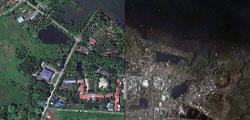 필리핀 태풍 피해 전 과 후